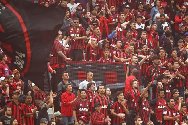 Torcida do Atlético deve lotar o estádio contra o Flamengo. | Daniel Castellano/Gazeta do Povo