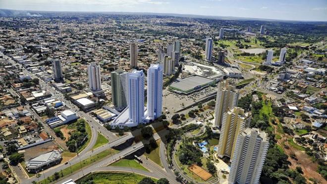 Localização onde será instalado o complexo corporativo. Entrega da obra está prevista para 2020 | Divulgação/Grupo Plaenge