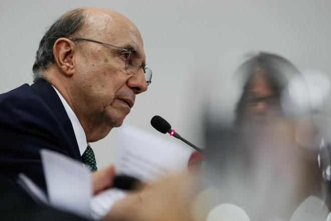 O ministro da Fazenda, Henrique Meirelles: homem forte da política econômica do governo Michel Temer   Lula Marques/Agência PT