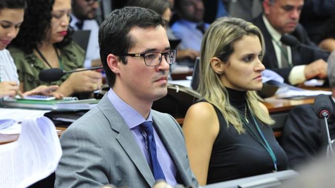 Durante a tramitação do projeto na Câmara, Dallagnol acompanhou parte dos trabalhos | Luis Macedo/Câmara dos Deputados/Arquivo