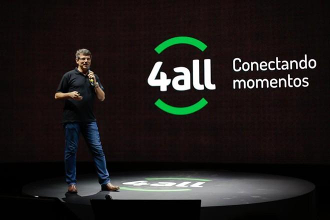 José Renato Hopf durante a apresentação do 4All, em Porto Alegre, em novembro | Vinicius Dalla Rosa/Divulgação