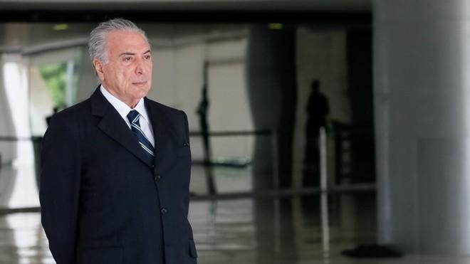 """Presidente MichelTemer não conseguiu colocar em prática o governo da """"ponte para o futuro"""".   Beto Barata/PR"""