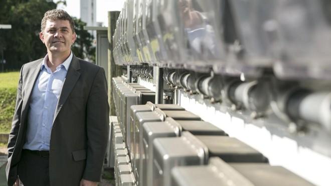 Marcelo Machado , CEO da Landis+Gyr, | Marcelo Andrade/Gazeta do Povo