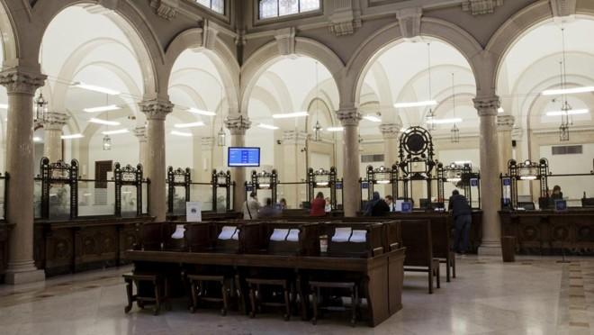 Sede da UBI Banca,na Itália: sede pomposa esconde créditos difíceis de recuperar. | CALOGERO RUSSO/NYT