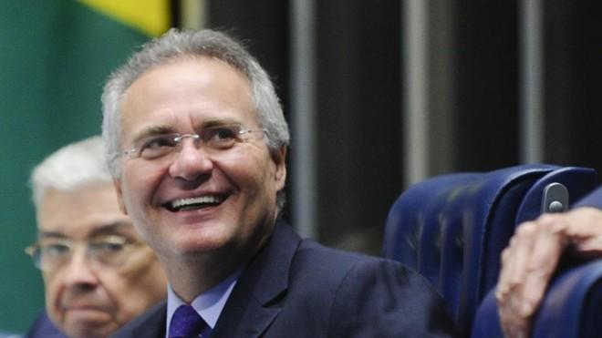 Renan Calheiros se recusou a receber o oficial de Justiça em duas oportunidades. | Marcos Oliveira/Marcos Oliveira/Agência Senado