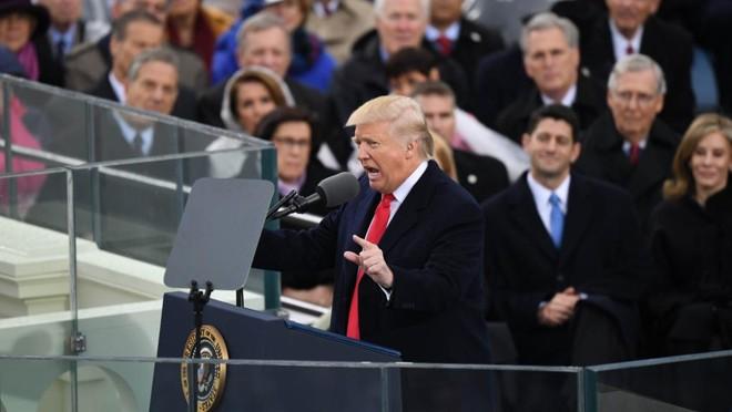 Posse de Donald Trump aconteceu na sexta-feira (20) | Jonathan Newton /The Washington Post