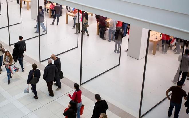 Internet está forçando grandes redes dos EUA a fecharem dezenas de lojas. | Michael Nagle/Bloomberg