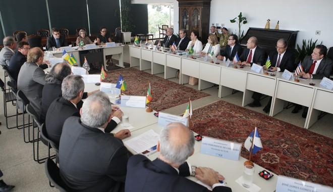 A reunião entre a presidente do STF e presidentes de TJs pelo país   Nelson Jr./SCO/STF