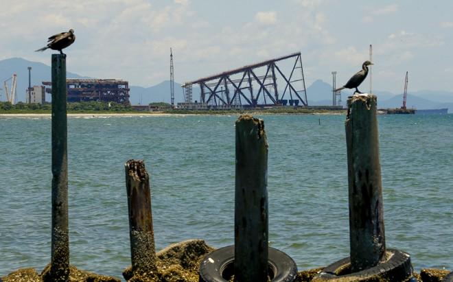 Por enquanto. zona portuária da região conta apenas com a operação da Techint | Hugo Harada/Gazeta do Povo