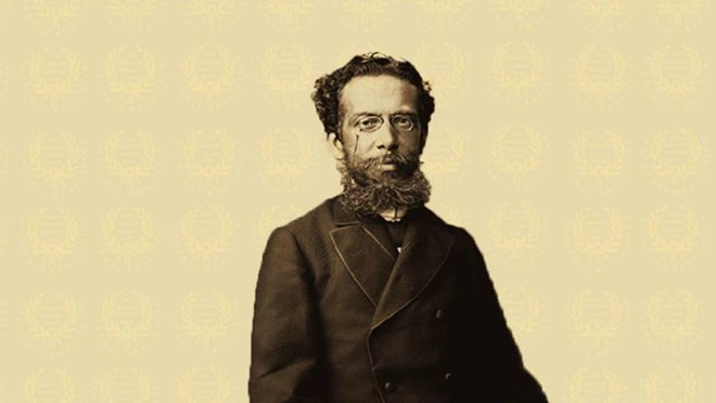 Machado de Assis:escolhido pela ABL para dar início à divulgação dos originais no site por ter sido seu fundador e primeiro presidente | /Reprodução