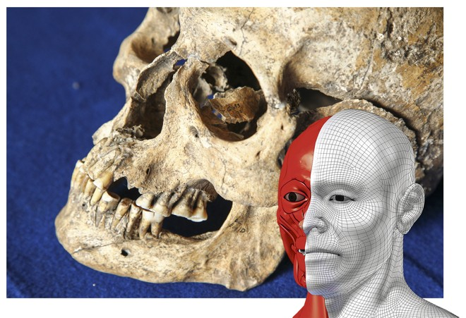 Tecnologia 3D permitirá saber como era o rosto do paranaense  de 2 mil anos cuja ossada foi encontrada em 1954. | Daniel Castellano/Gazeta do Povo
