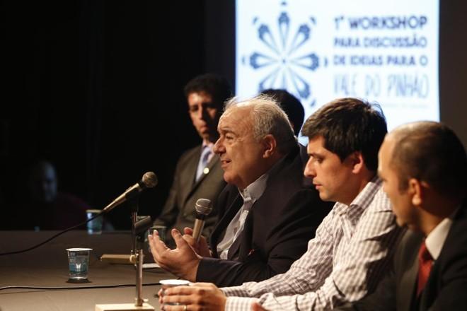 Projeto foi lançado ontem, no Memorial de Curitiba, com presença do prefeito RafaelGreca.   Hugo Harada/Gazeta do Povo
