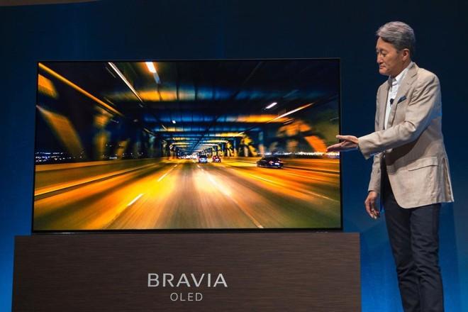 OLED, da Sony, não tem alto-falantes: som se propaga pela vibração da tela | DAVID MCNEW/AFP