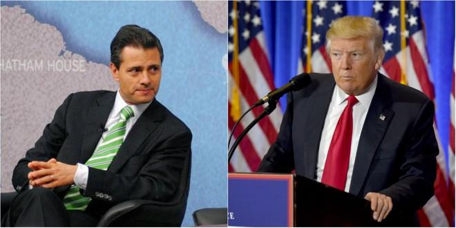 Enrique Peña Nieto, presidente do México, disse que não pagará pelo muro arquitetado por Trump   Chatham House London/Timothy A. Clary   AFP