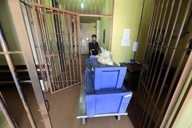 OComplexo Médico Penal em Pinhais, na Região Metropolitana de Curitiba, onde estão alguns presos provisórios da Lava Jato   Albari Rosa/Gazeta do Povo