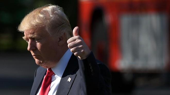 Nos Estados Unidos, nem sequer o presidente Donald Trump tem o benefício de foro privilegiado. | Mandel Ngan /AFP