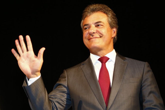 Beto Richa: doações de cervejaria laranja  da Odebrecht na eleição de 2010. | Henry Milleo/Gazeta do Povo