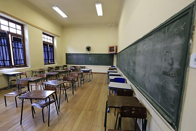 Pelo menos um terço dos professores têm remuneração básica abaixo do que é determinado pela Lei do Piso   Albari Rosa/Gazeta do Povo