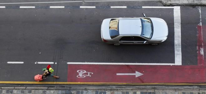 Via Calma: limite de 30 km/h será alterado. | Daniel Castellano/Gazeta do Povo