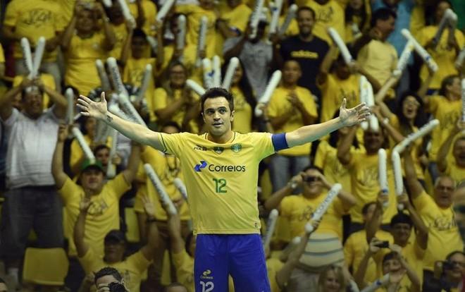 Pela seleção, Falcão marcou 385 gols nas 242 partidas  que disputou. | Divulgação CBFS/