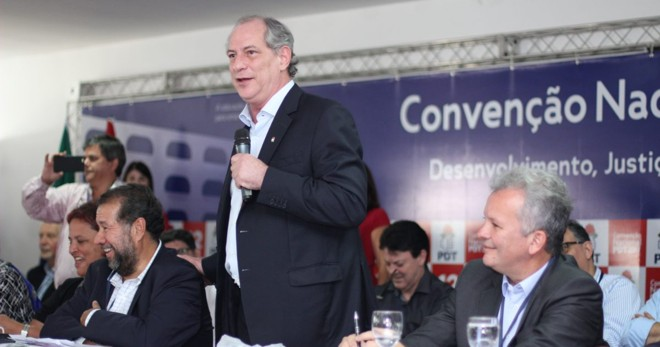 Ciro Gomes participa de evento do PDT | Divulgação/PDTNacional