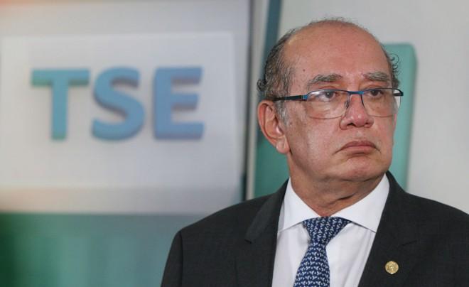 Gilmar Mendes, presidente do TSE | Nelson Jr./ASCOM/TSE