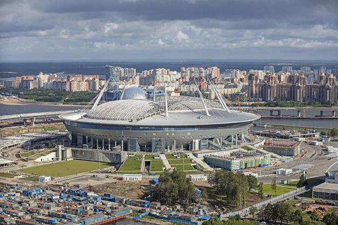 O estádio Krestovsky, a Nave Espacial. | /Divulgação