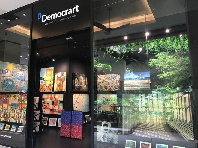 A galeria conta atualmente com mais de 150 artistas entre brasileiros, cubanos, europeus e norte-americanos. | Democrart/Divulgação