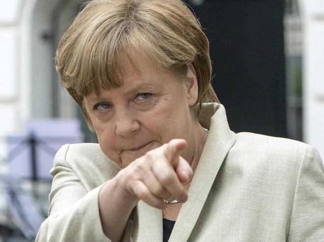 Merkel: reconhecida pelos próprios americanos como defensora dos melhores valores do Ocidente   Maurizio Gambarini/Reuters