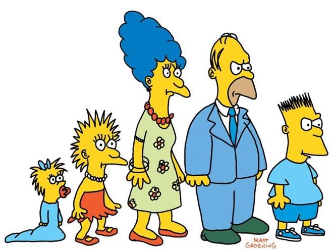 A primeira versão de 'Os Simpsons', que foi ao ar em 1987: tosco, mas profundamente engraçado | /Divulgação