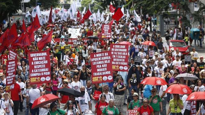 Centrais sindicais organizam manifestação nas ruas para a próxima sexta-feira, dia 31 | Henry Milleo/Gazeta