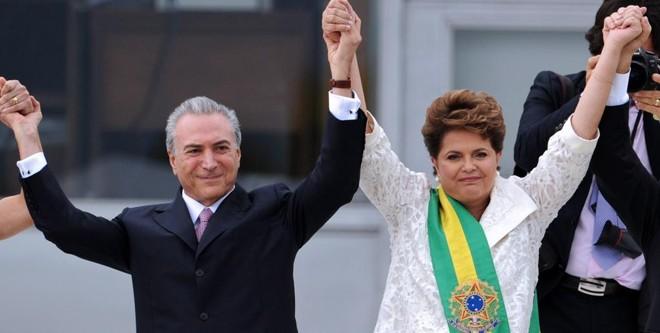 Temer e Dilma | EVARISTO SA/AFP