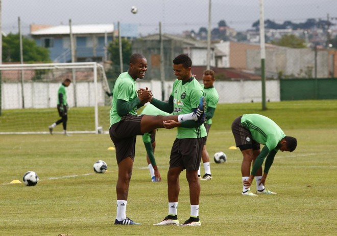 Treino do Coritiba no CT da Graciosa. | Aniele Nascimento/Gazeta do Povo