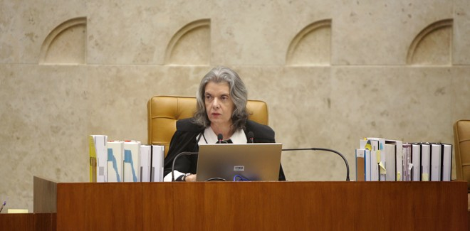 Cármen Lúcia, presidente do Supremo Tribunal Federal | Rosinei Coutinho/SCO/STF