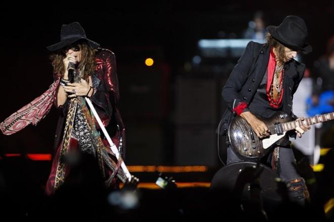 Aerosmith de volta a Curitiba: desta vez na Pedreira   Hugo Harada/Gazeta do Povo