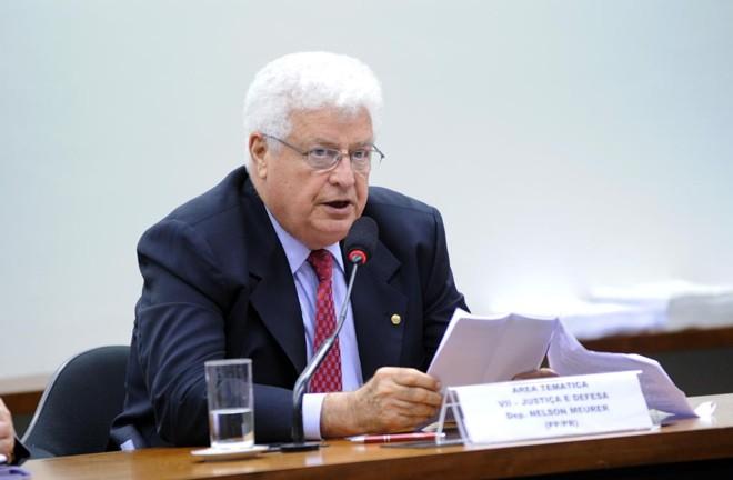 Nelson Meurer, em foto de 2013 | Laycer Tomaz/Câmara dos Deputados/Arquivo