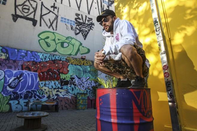 Cabes: quatro álbuns e doze anos como profissional do rap. | Daniel Castellano/Gazeta do Povo