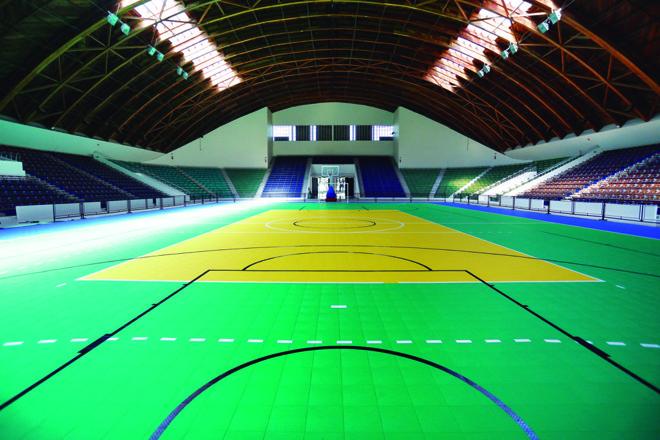 Com uma série de reformas, ginásio tem capacidade para 4.555 pessoas sentadas. | Henry Milleo / Gazeta do Povo