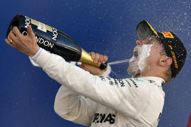 Valtteri Bottas: 107.º piloto a vencer na história da Fórmula 1. | ALEXANDER NEMENOV/AFP