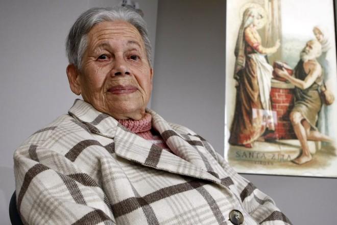 Eulália Ventura, fundadora da Associação das Empregadas Domésticas de Santa Zita. | Henry Milléo / Gazeta do Povo/Arquivo