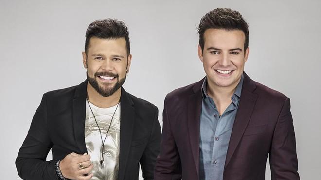 Marcos (à esquerda) e Belutti: dupla se uniu por acaso em 2007,. | Divulgação /