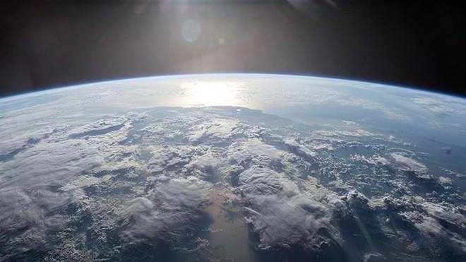 Foto tirada na Estação Espacial Internacional: precisa de mais provas? | NASA/AFP