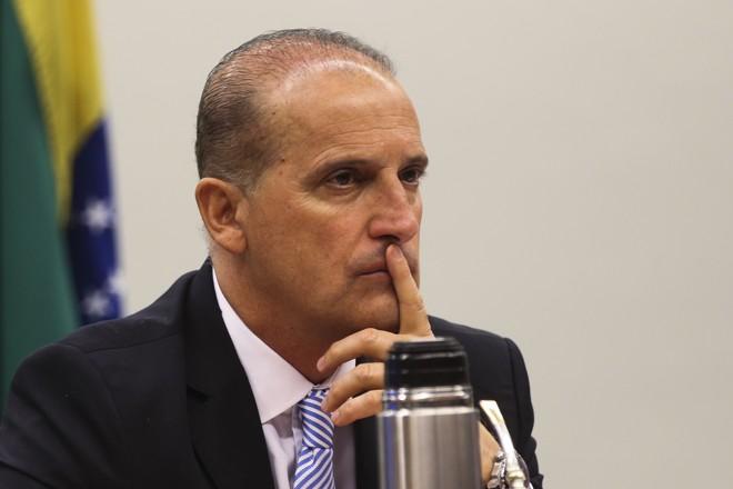 Lorenzoni foi relator das Dez Medidas Contra a Corrupção na Câmara e defendeu as propostas do MPF. | Antonio Cruz/Agência Brasil