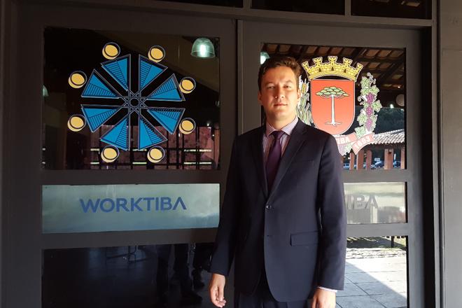 Alexandre Jarschel, presidente do Imap: instituto pretende lançar outras sedes do Worktiba | Naiady PivaGazeta do Povo