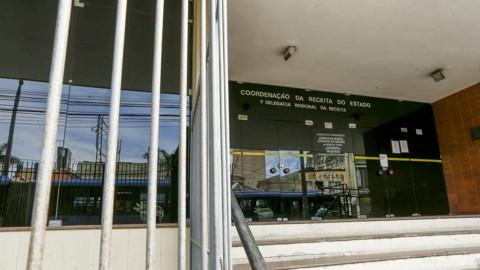 Acoordenação da Receita Estadual, em Curitiba | Hugo Harada/Gazeta do Povo