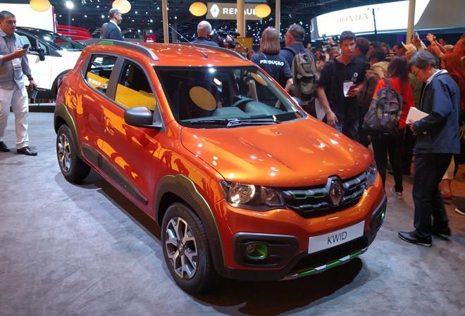 O Renault Kwid é uma das atrações para o mercado brasileiro em 2017. Modelo será apresentando no Salão de Buenos Aires, em junho. | Renyere Trovão/Gazeta do Povo