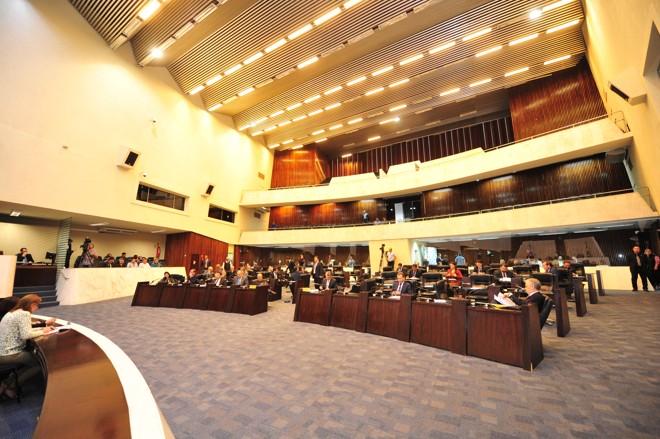 Plenário da Assembleia: investigações contra escândalos no governo não saem do papel. | Pedro de Oliveira/Alep