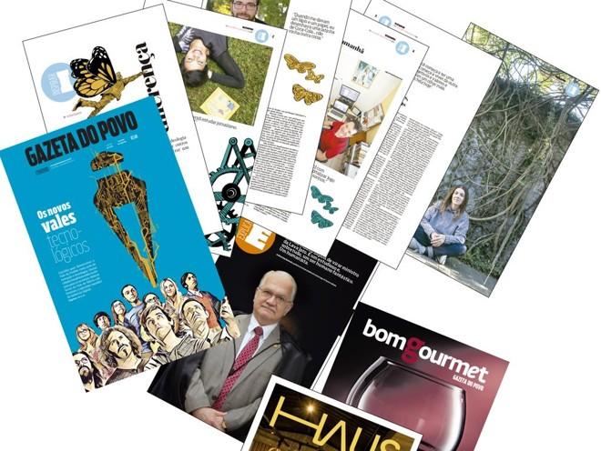 A nova Gazeta do Povo semanal: 64 páginas de alta qualidade com conteúdo próprio para leitura de fim de semana | /