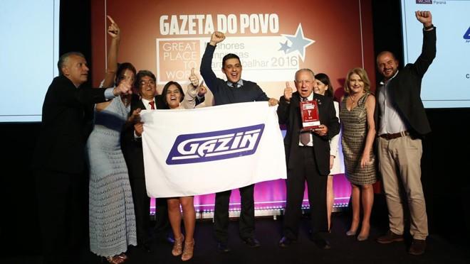 Campeã do ranking das grandes empresas em 2016, a Gazin, de Douradina, no Noroeste do estado, levou o ouro em cinco dos sete rankings do Great Place to Work realizados até agora. | Hugo Harada/Gazeta do Povo