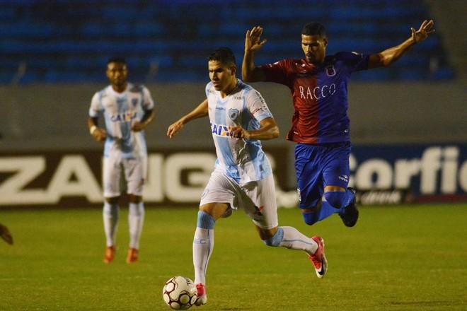 Paraná voltou a sofrer gol nos acréscimos. | Gustavo Oliveira/Londrina Esporte Clube